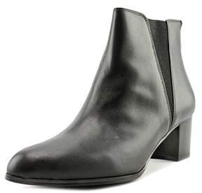 Alfani Womens Vitaa Leather Almond Toe Ankle Chelsea Boots.