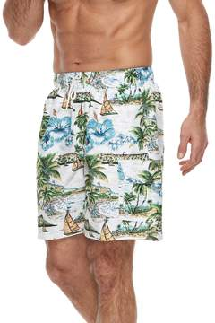 Croft & Barrow Men's Mahalo Beach Swim Trunks