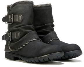 Not Rated Women's Who's Talking Moto Boot