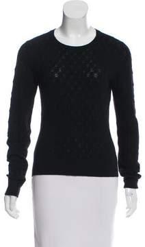 TSE Open-Knit Cashmere Sweater