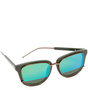 3.1 Phillip Lim Mirrored Sunglasses