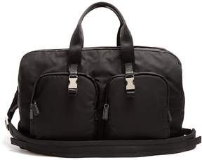 Prada Double-pocket nylon holdall