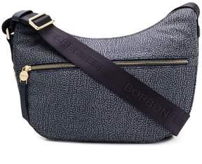 Borbonese printed hobo shoulder bag