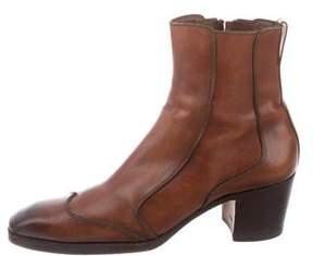 Saint Laurent Leather Johnny Boots