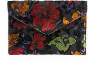 Rebecca Minkoff Floral Velvet Leo Clutch - MULTI - STYLE