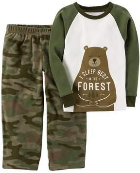 Carter's Boys 4-12 Bear 2-Piece Pajama Set