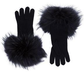 Max Mara Fur Cuffed Gloves