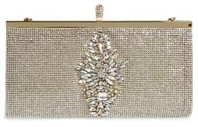 Badgley Mischka Alisha Clutch - Metallic