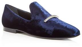 Via Spiga Women's Tallis Velvet Loafers - 100% Exclusive