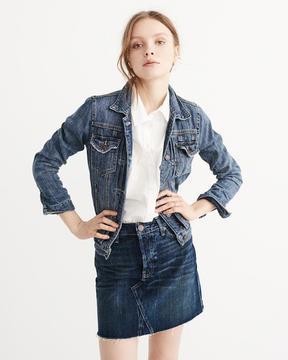 Abercrombie & Fitch Classic Denim Jacket