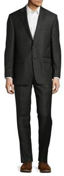 Lauren Ralph Lauren Slim-Fit Olive Wool Suit