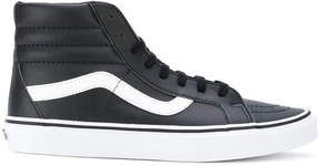Vans hi-top lace up sneakers