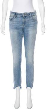 DL1961 Margaux Mid-Rise Skinny Jeans
