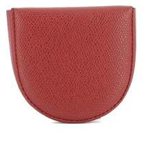 Valextra Women's Red Leather Wallet.