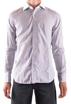 La Martina Men's White Cotton Shirt.