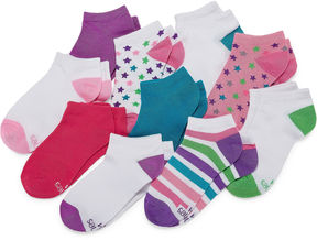 Hanes 10 Pair Low Cut Socks