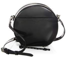 Rebecca Minkoff Boston Circle Shoulder Bag - BLACK - STYLE