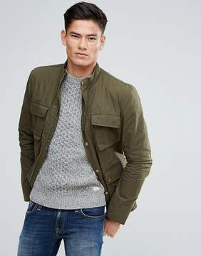 Jack Wills Kirkconnel Four Pocket Field Jacket In Olive