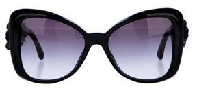 Chanel Camelia Butterfly Sunglasses