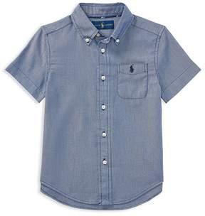 Polo Ralph Lauren Boys' Performance Oxford Shirt - Little Kid