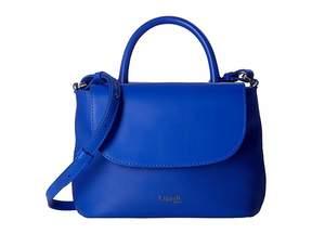 Lipault Paris Plume Elegance Leather Mini Handle Bag Handbags
