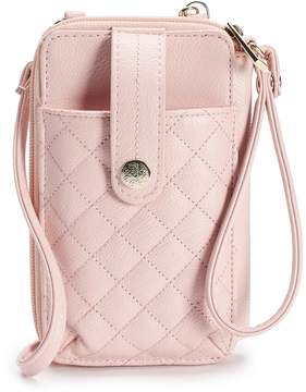 Apt. 9 Jacqui Quilted Crossbody Wallet