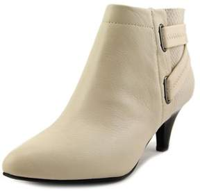 Alfani Vandela2 Pointed Toe Leather Ankle Boot.