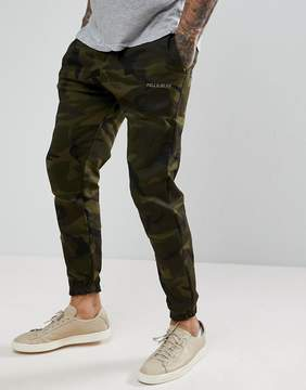 Pull&Bear Carrot Fit Joggers In Camo