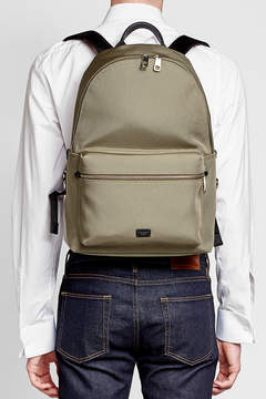 Dolce & Gabbana Fabric Backpack with Leather