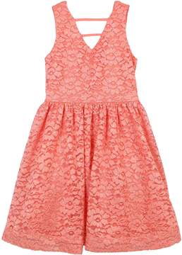Speechless Girls 7-16 Floral Lace Sleeveless Dress