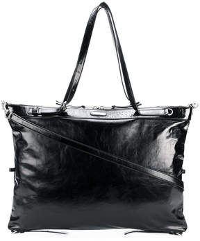 Saint Laurent large ID convertible bag - BLACK - STYLE