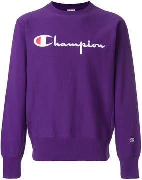 Champion Large logo crewneck sweater