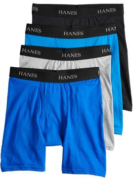 Hanes Boys 4-20 Cool Comfort 4-Pack Boxer Briefs