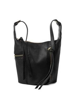 Kooba Prescott Snake-Embossed Crossbody Bag