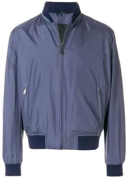 Brioni high neck bomber jacket
