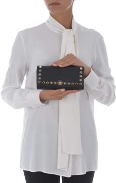 Michael Kors Stud Embellished Clutch - NERO - STYLE