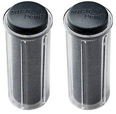 Emjoi Micro-Pedi Super-Coarse Refill Rollers -Set of 2