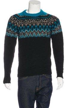 Kolor 2015 Fair Isle Wool Sweater
