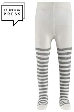 Falke Grey Stripe Baby Tights