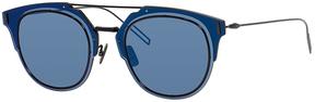 Safilo USA Dior Homme Composit 1.0 Round Sunglasses