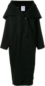 Boule De Neige oversized turned collar coat