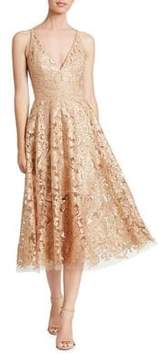 Dress the Population Fit-&-Flare Dress