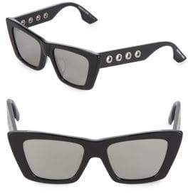 McQ 52mm Cat-Eye Sunglasses