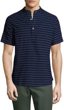 Jachs Men's Cotton Printed Band Shirt