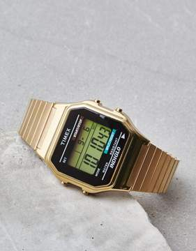 American Eagle Outfitters Timex Gold Digital Watch