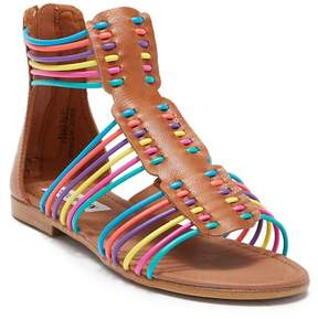Steve Madden J-Skittles Gladiator Sandal (Little Kid & Big Kid)