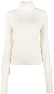 Chloé bell sleeved roll neck sweater