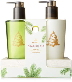 Thymes Frasier Fir Sink Set with Caddy