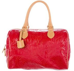 Etro Paisley Embossed Handle Bag