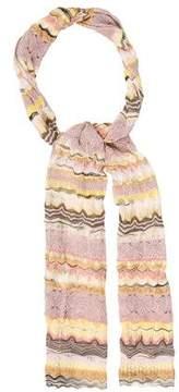 Missoni Woven Open-Knit Scarf